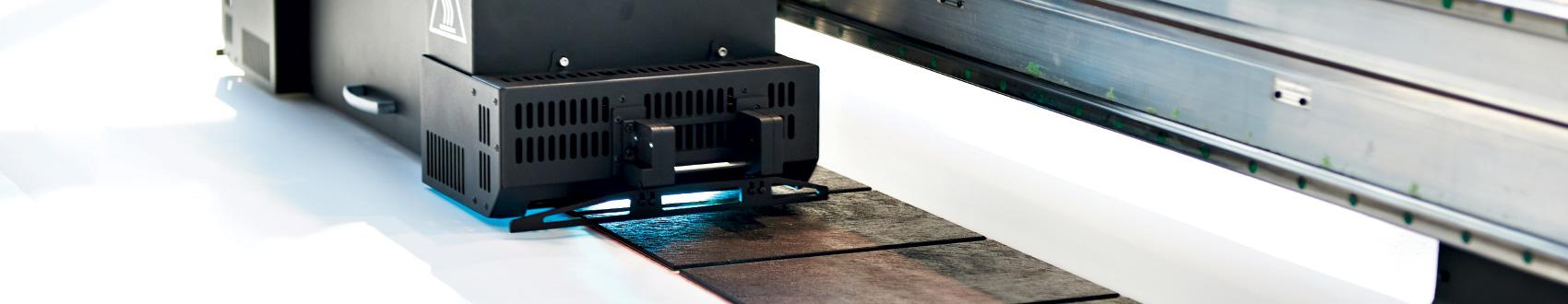 Banner Fertigungsverfahren Drucken