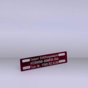 Produkte Kabelschilder - Beispiel 1
