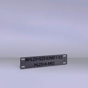 Produkte Kabelschilder - Beispiel 4