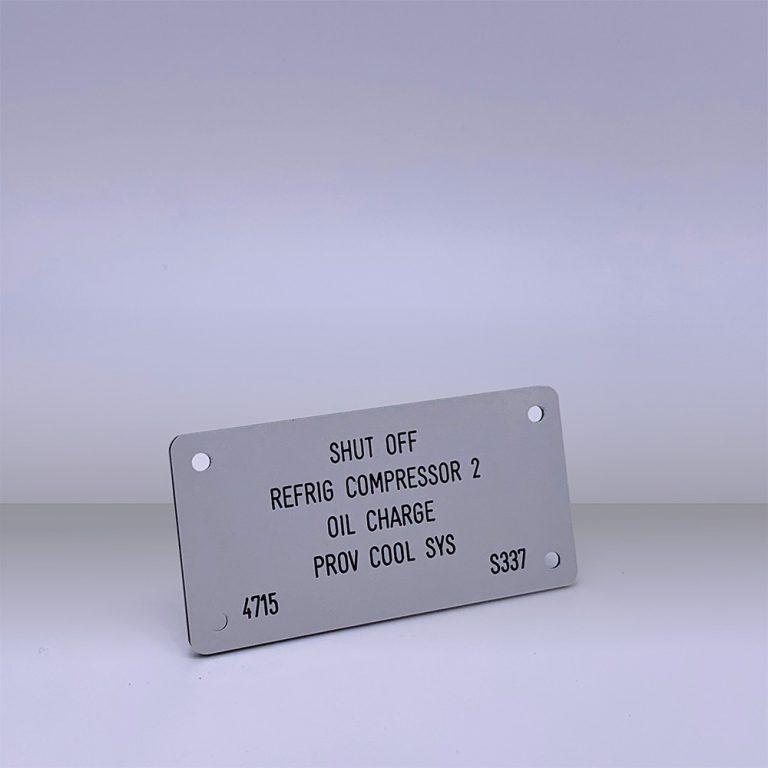 Produkte KKS Schilder - Beispiel 1