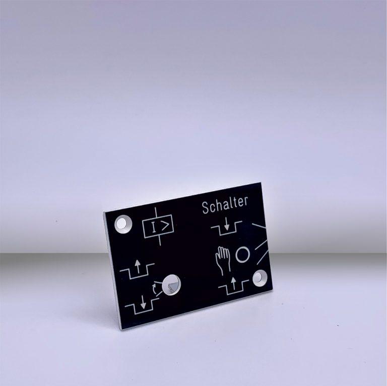 Produkte Schalterschilder - Beispiel 2